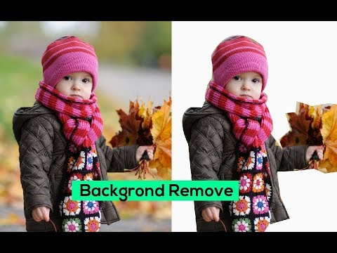 Photoshop Basic: How to Delete Background From Any Photo