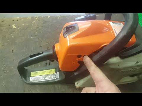 Stihl Chainsaw Carburetor Adjustment
