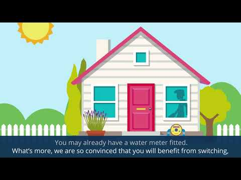 Take control of your water bill with a meter