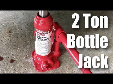 HyperTough 2 Ton Hydraulic Bottle Jack from Walmart review