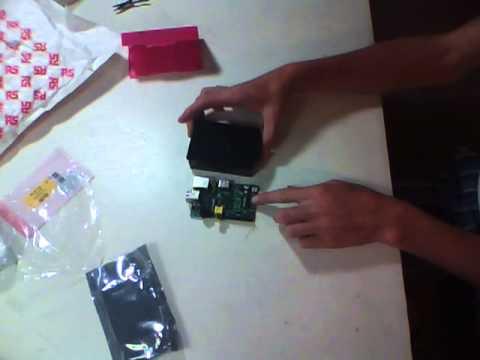 SoC Raspberry Pi Unboxing Model B - Whnabile
