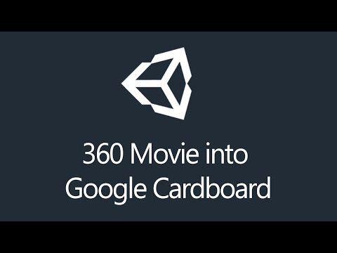 [Tutorial] Unity3d - 360 Movie into Google Cardboard App