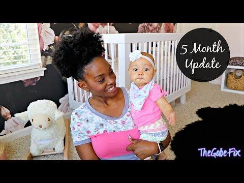 5 MONTH BABY UPDATE