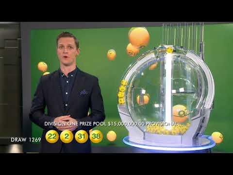 Oz Lotto Draw Results 1269 12/06/2018 - the Lott