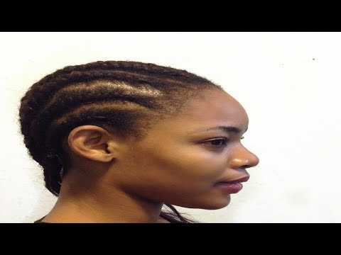 How to Corn-roll Your Own Hair With Attachment / Extension (Beginner Friendly) | GoldQueen Queency