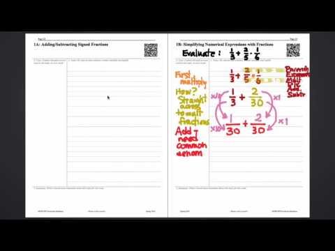 095.1 Note Taking in Mathematics (Cornell Method)
