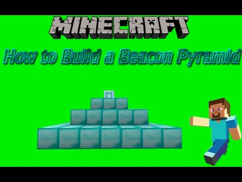 How to Build a Beacon Pyramid on Minecraft