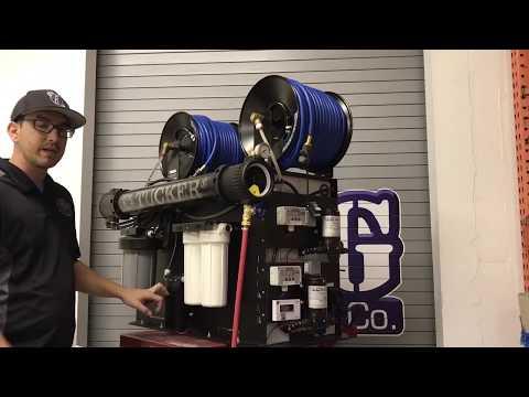 Tucker High Capacity RO / DI Water Treatment System