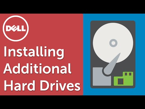 How to install a Hard Drive (Official Dell Tech Support)