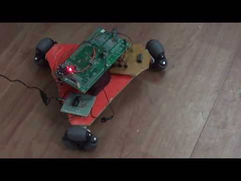 OMNI DIRECTIONAL ROBOT CONTROLLED THROUGH MOBILE