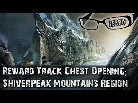 Shiverpeak Mountains Region Reward Track sPVP. Magic find 381%! PVE GW2