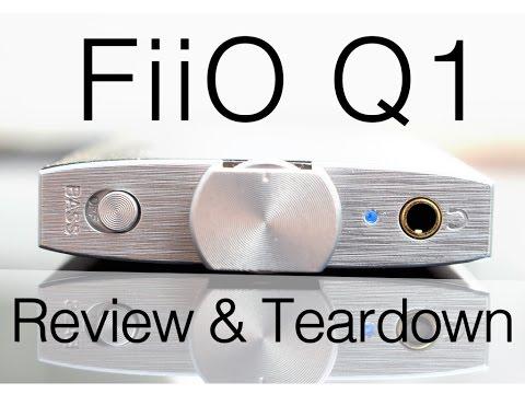 Fiio Q1 Portable Headphone Amp & DAC: Teardown + Review