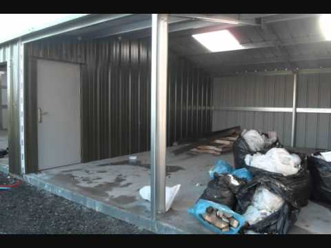 Insulated Steel Sheds 0001
