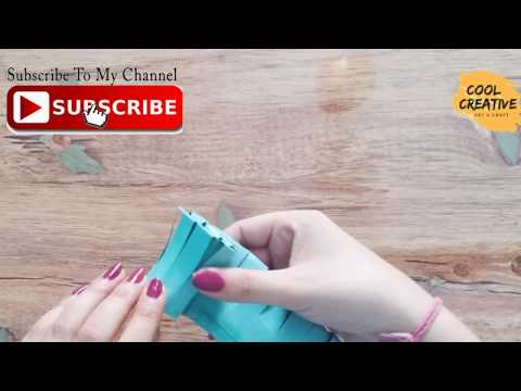 DIY EASY CRAFT FOR KIDS for mother's day special!! Paper flower bouquet - cool and creative #133