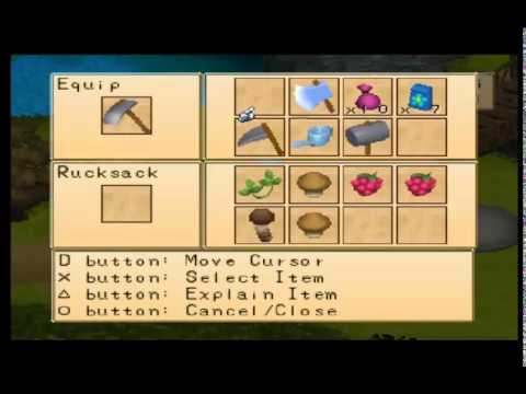 Harvest Moon: Boy & Girl - Year 1/Fall/Day 2 - Planting Flower Seeds - #61