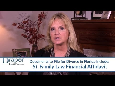 What Documents Do I Need To File For Divorce in Florida? – FL Family Law Attorney Linda Gruszynski