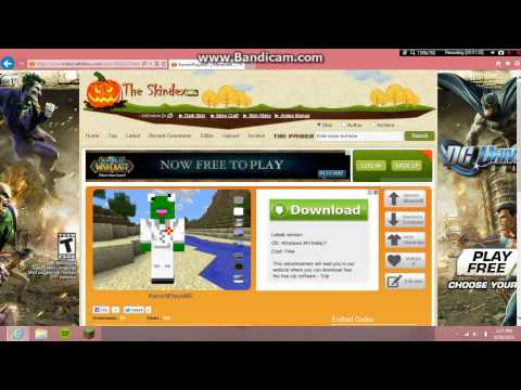 How To Change Your Minecraft Skin On Windows 8