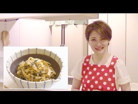 Japanese Cooking recipe : Cabbage with Sesame Dressing