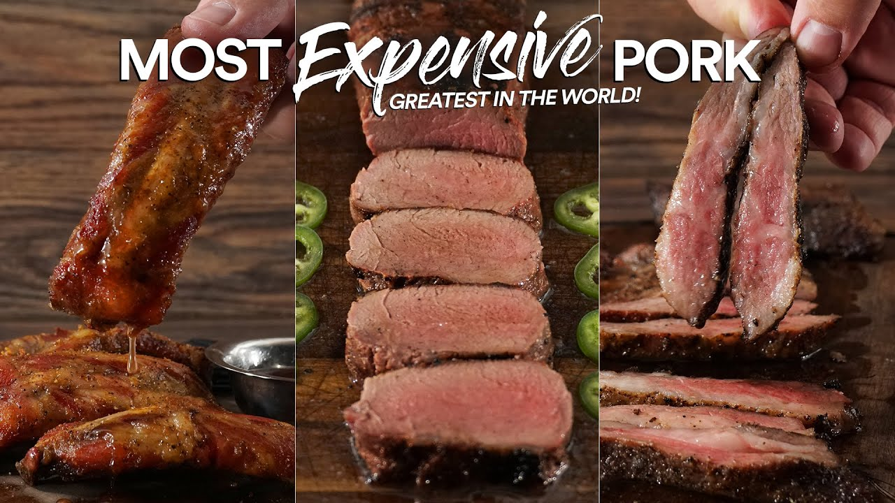 I cooked MOST EXPENSIVE Pork, Better than WAGYU!?