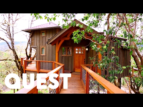Amazing Mountain View Treehouse | Treehouse Masters