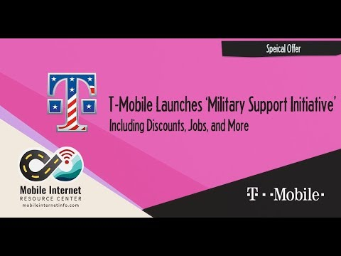 T-Mobile ONE Military: The Uncarrier Announces Substantial Discount to Military and Veterans