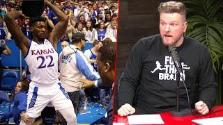 Pat McAfee Reacts To Kansas-Kansas State Brawl