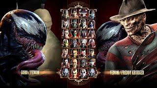Игра за Venom \u0026 Goro в Mortal Kombat Komplete Edition на PC в 2K