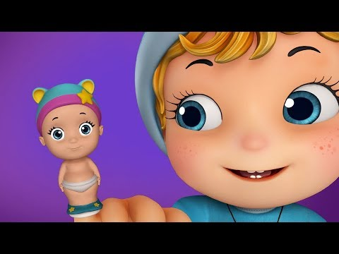 Finger Family Rhymes with Bubbles | Rhymes for Kids | Infobells