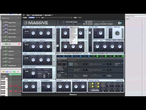 How to make a easy Hardstyle Lead in Massive (Swedish)