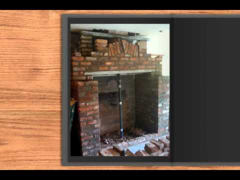 Cheshire Builders Build & replace the fireplace.mov