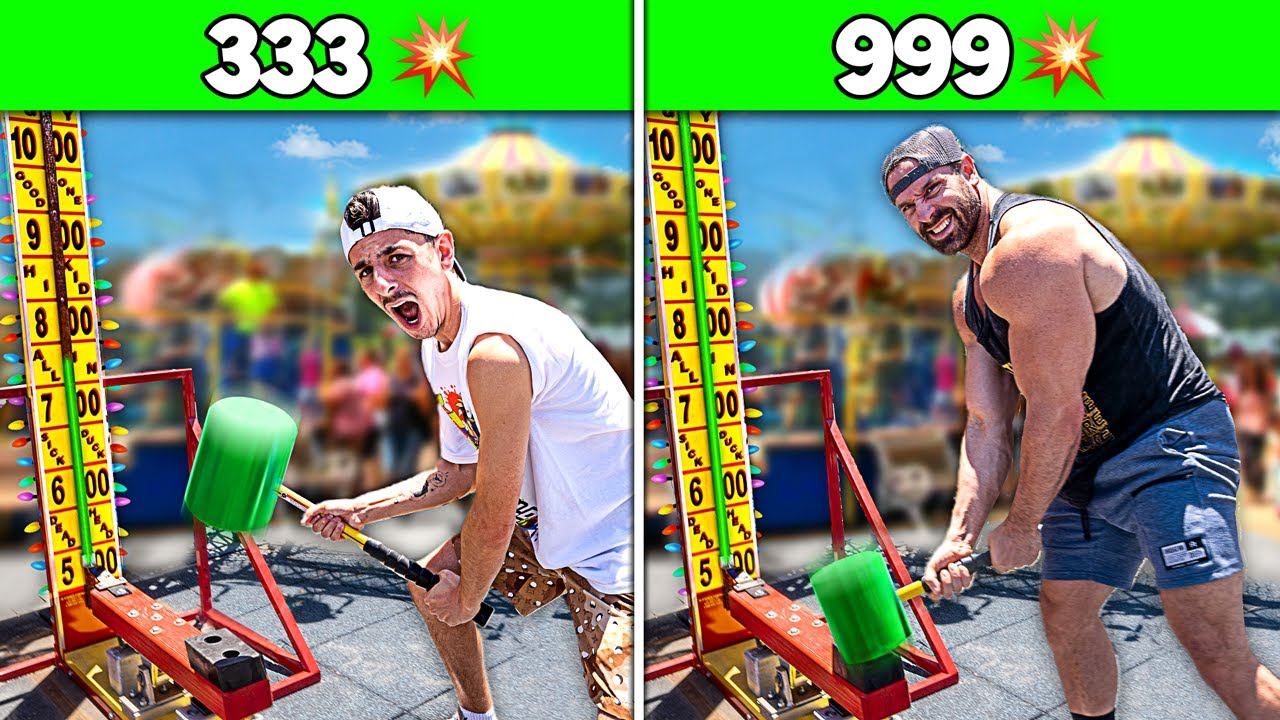 Who Is The STRONGEST YouTuber - Strength Challenge