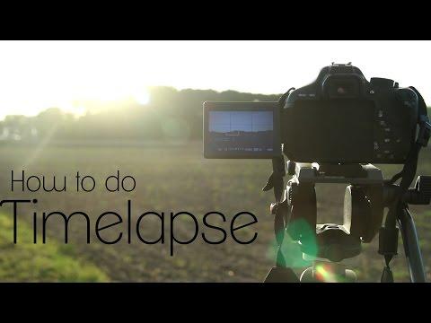 How To Make Timelapse Videos   Video DSLR Tutorial