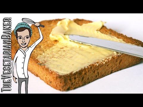 How To Make Vegan Butter | The Vegetarian Baker