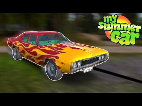 FINN STEALS MUSCLE CAR - My Summer Car #3 - Grand Theft Towing