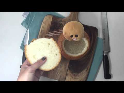 Easter Bunny Bread Bowls