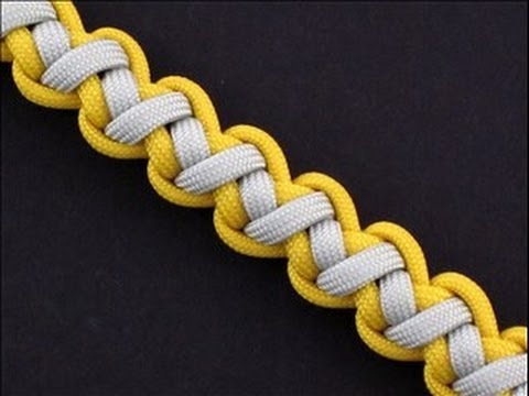 How to Make a Tomahawk Sinnet (Paracord) Bracelet by TIAT