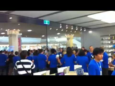 Castle Towers Apple Store Opening
