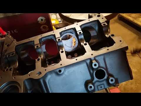 Sbc 350 cam bearing install part 2