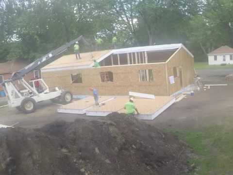 Extreme Panels Time Lapse House Build
