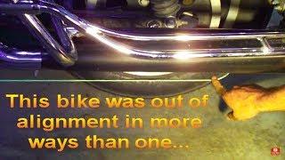 Delboy's Garage, Make A Harley Davidson Wheel Alignment tool