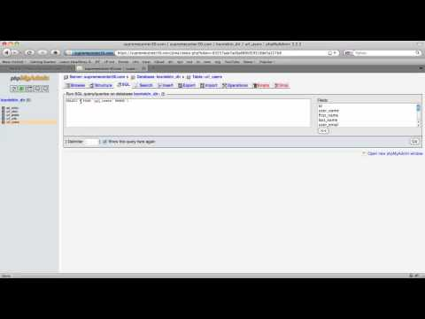 Extract Email Addresses from a Website Database