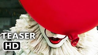 IT Official Teaser Trailer (2017) Clown, Horror Movie HD