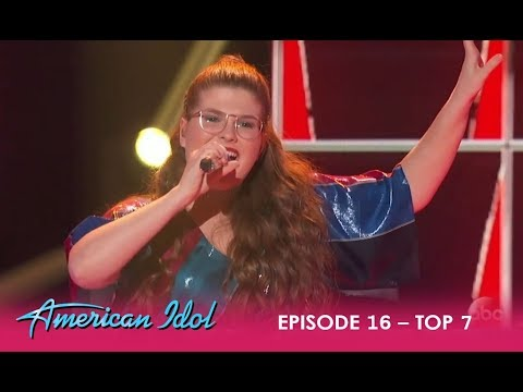 Catie Turner: SMASHES 'Oops!... I Did It Again' By Britney Spears | American Idol 2018