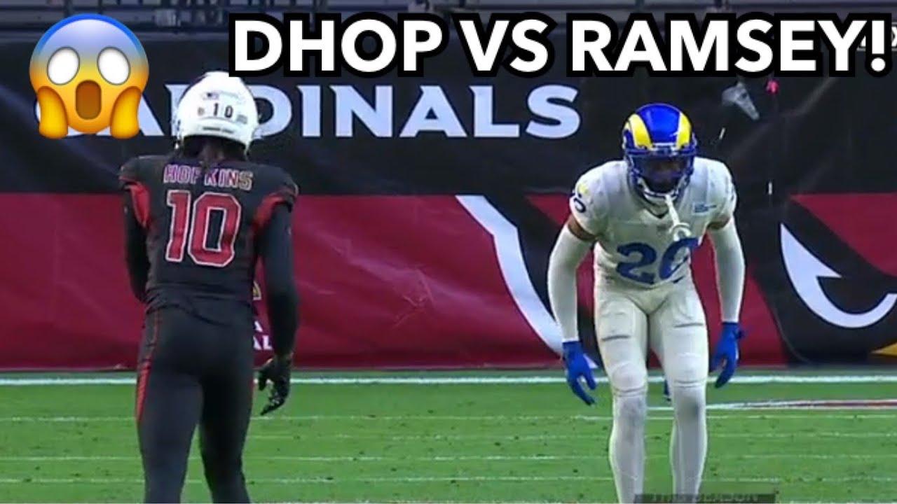 DeAndre Hopkins vs Jalen Ramsey (2020) WR vs CB