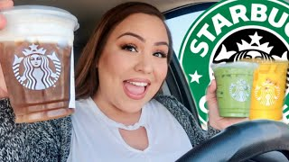 Starbucks NEW SPRING DRINKS 2020 Taste Test!