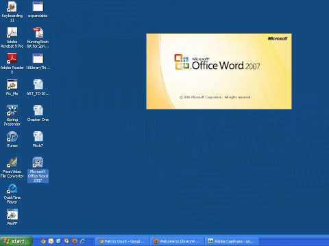 Creating a Desktop Shortcut
