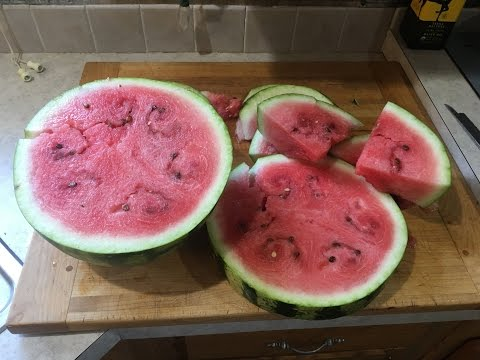 Watermelon Breakfast on the Ozarks Homestead #simplelife