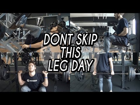 Build Big And Strong Legs | Full Lower Body Workout