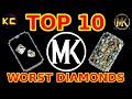 MK Mobile - Top 10 Worst Diamonds