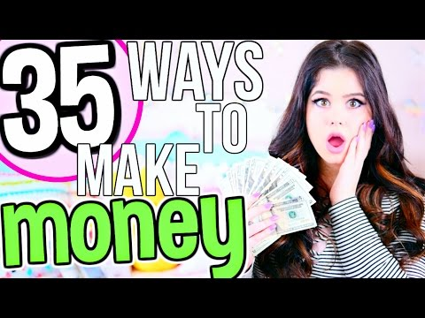 35 FAST + EASY Ways to Make Money! How To Make Money FAST as a Teenager, Kid & Adult!